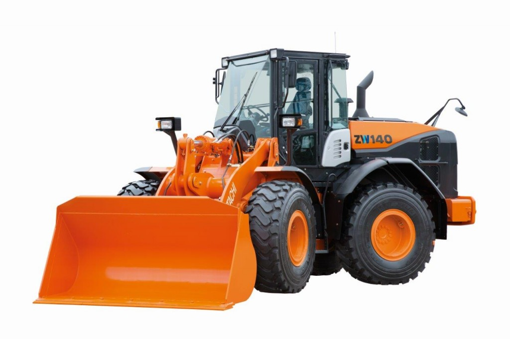 Hitachi wheel loaders
